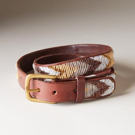 DOVETAIL BEADED BELT