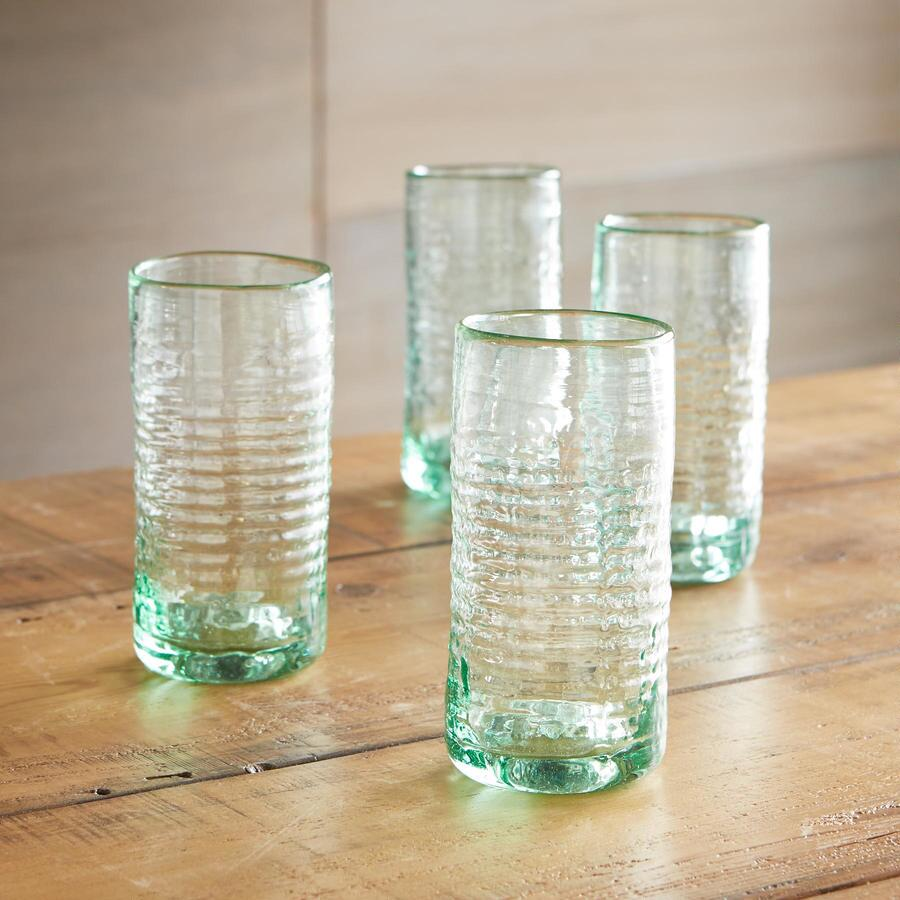 LARGE BOGOTAN TUMBLERS, SET OF 4