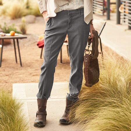 RELAXED CLEAN FRONT PANTS