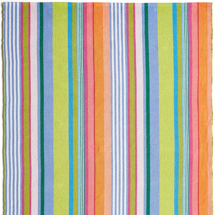 DANA POINTS STRIPES WOVEN RUG, LARGE