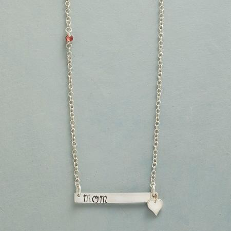 MOM IS LOVE NECKLACE