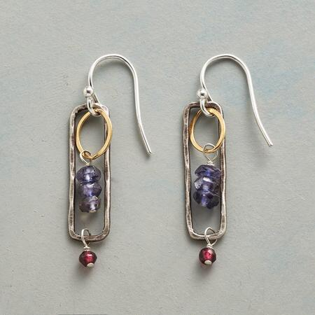 IOLITE BREEZEWAY EARRINGS