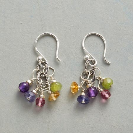 AMONG AMETHYST EARRINGS