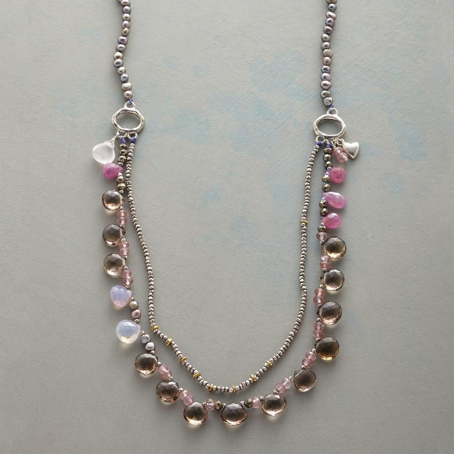 THROUGH THE CLOUDS NECKLACE
