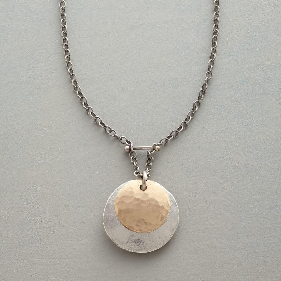 TWO MOONS NECKLACE