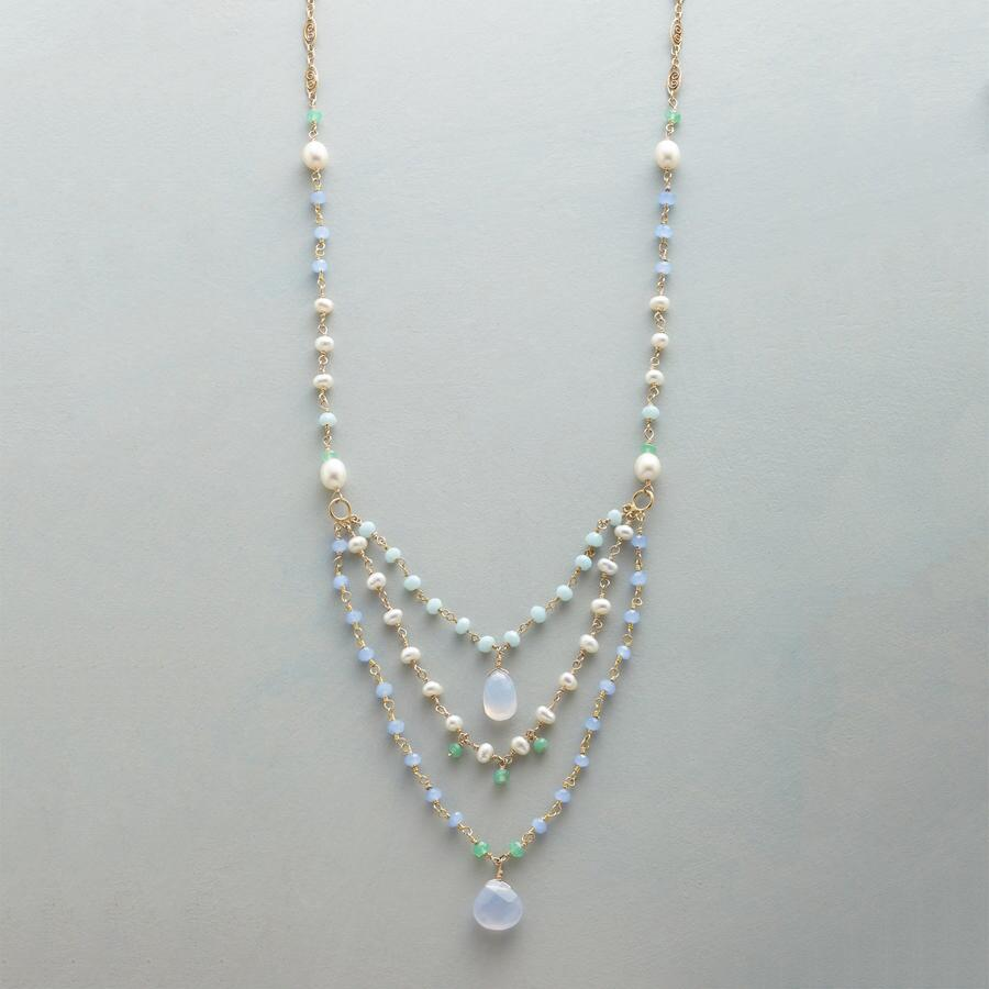 LOVING THE BLUES NECKLACE