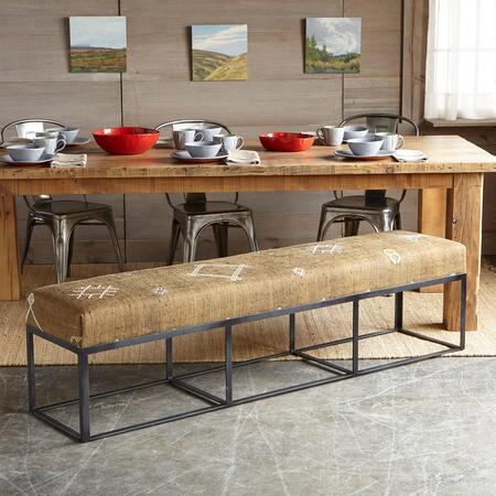 Vintage asilah moroccan bench robert redford 39 s sundance catalog Moroccan bench