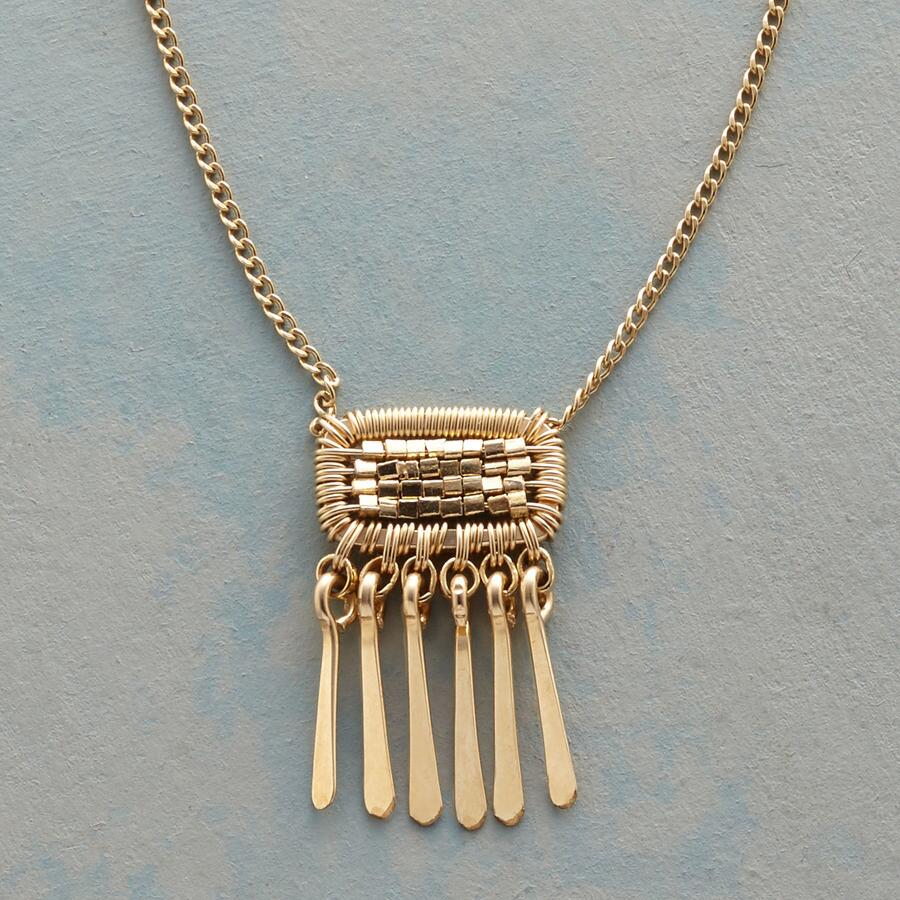 PATCH OF GOLD NECKLACE