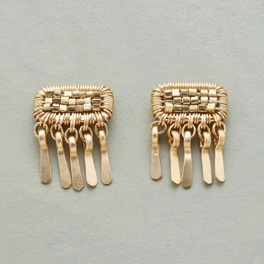 PATCH OF GOLD EARRINGS