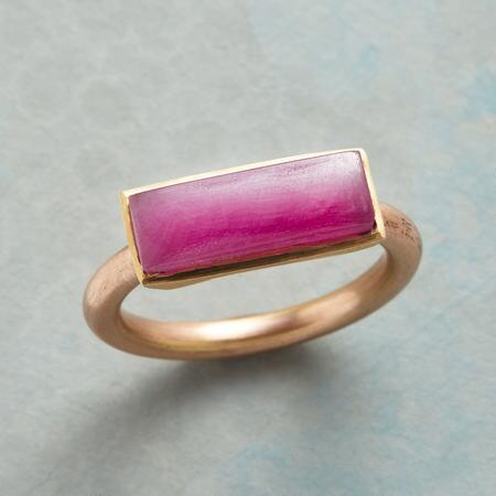 RUBY INGOT RING