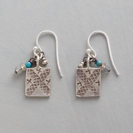 CHARMED TURQUOISE EARRINGS