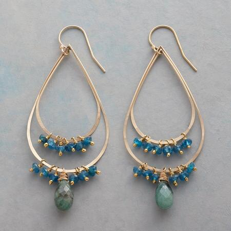 DEUX TEARDROP EARRINGS