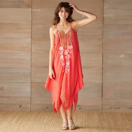 LANTERN FLOWER DRESS