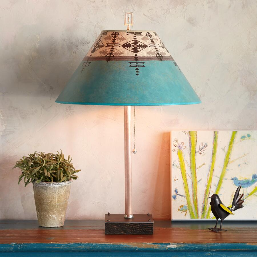 TRIBAL CURRENTS TABLE LAMP
