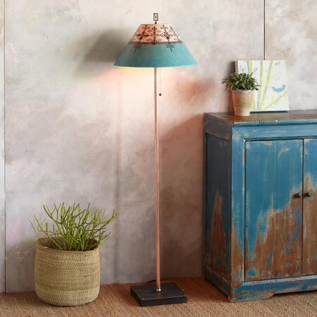 TRIBAL CURRENTS FLOOR LAMP