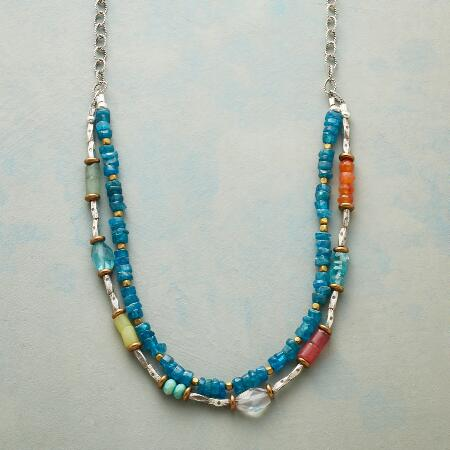 CERULEAN SOIREE NECKLACE