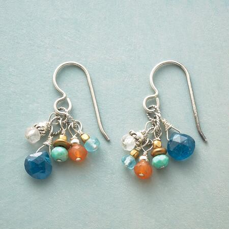 CERULEAN SOIREE EARRINGS