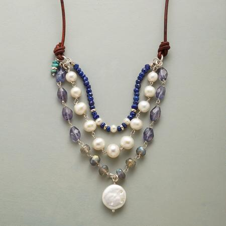 LUSTROUS EVENING NECKLACE