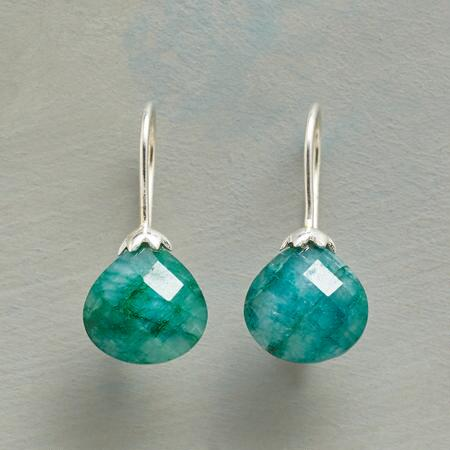 SILLIMANITE SPROUT EARRINGS