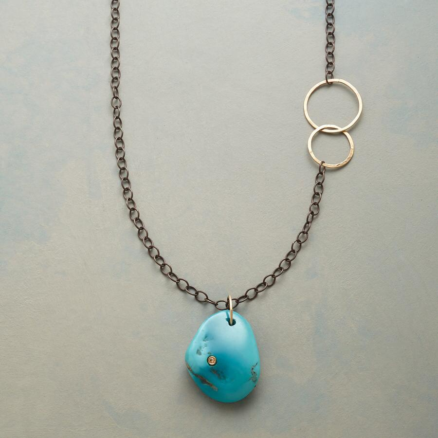 DIAMOND IN THE ROCK NECKLACE