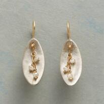 DIAMOND SWOOSH EARRINGS