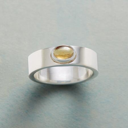 SIMPLY CITRINE RING