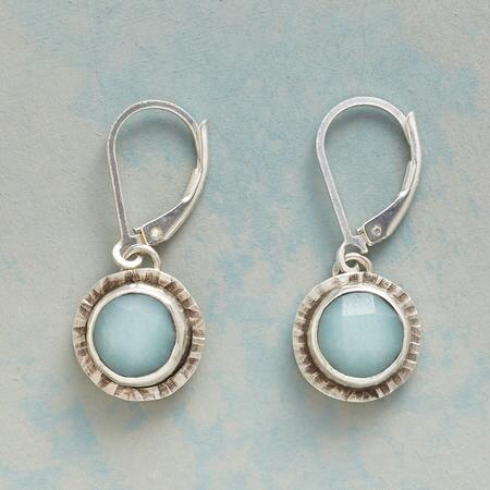 HUSHED BLUE EARRINGS