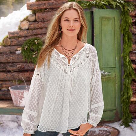 SHEER HAPPINESS TUNIC