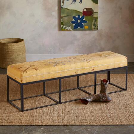 Bou regreg moroccan bench robert redford 39 s sundance catalog Moroccan bench