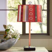 SUNDANCE SERAPE TABLE LAMP