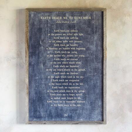 WORDS OF WISDOM PRINT BY JOHN YELLOW LARK