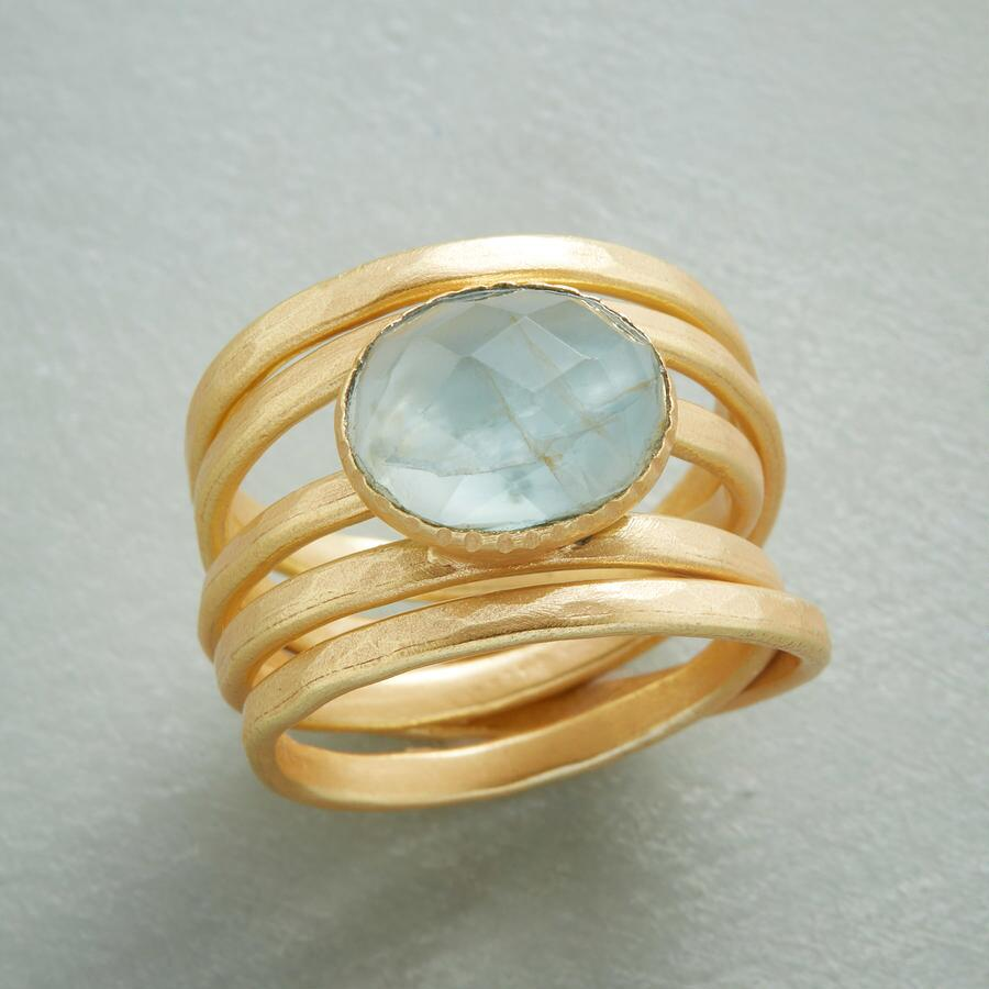 WRAPPED IN GOLD RING