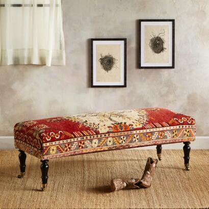 SAMSUN TURKISH CARPET BENCH
