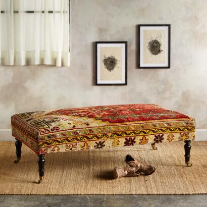 VAN TURKISH CARPET BENCH