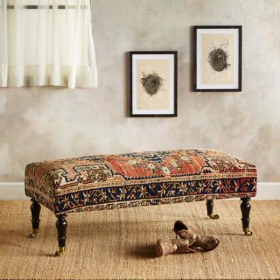 MANISA TURKISH CARPET BENCH