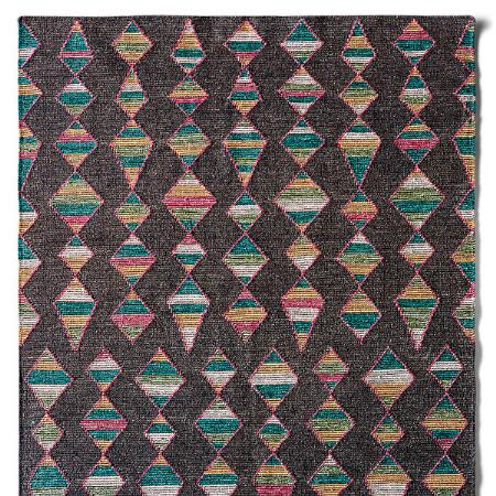 MINERAL BASIN DHURRIE RUG, LARGE