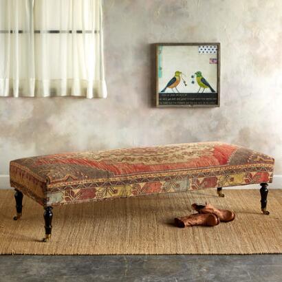AYDIN TURKISH CARPET BENCH