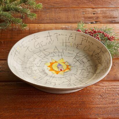 SENTIMENT HOME PLATTER