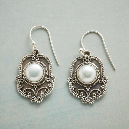 ELEVATED PEARL EARRINGS