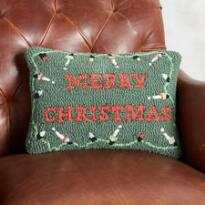 HOLIDAY MERRY CHRISTMAS PILLOW