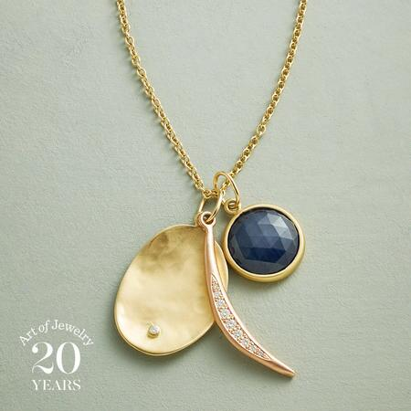 ANNIVERSARY MOON NECKLACE