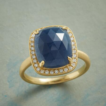 QUEEN OF SAPPHIRES RING
