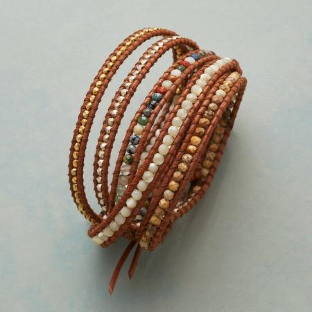 FIVE FACES WRAP BRACELET