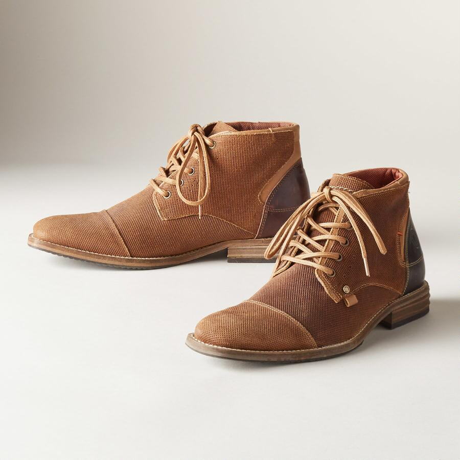KINGSTON LACE-UP SHOES