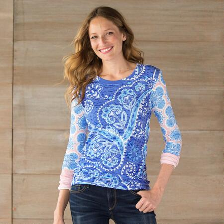 TIMELESS PAISLEY TEE