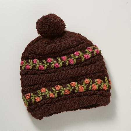 RING OF ROSES HAT