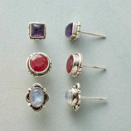 AROUND & ABOUT EARRINGS, SET OF 3