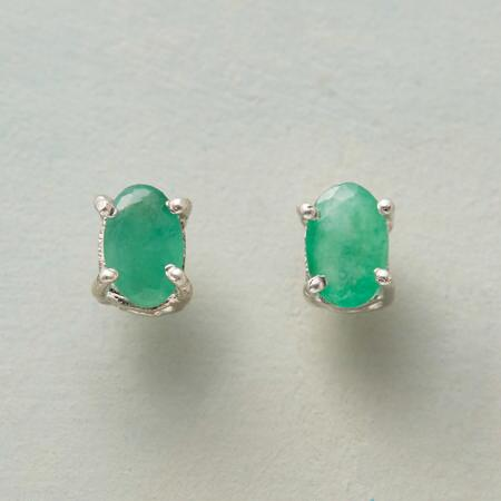ALPINE EMERALD EARRINGS