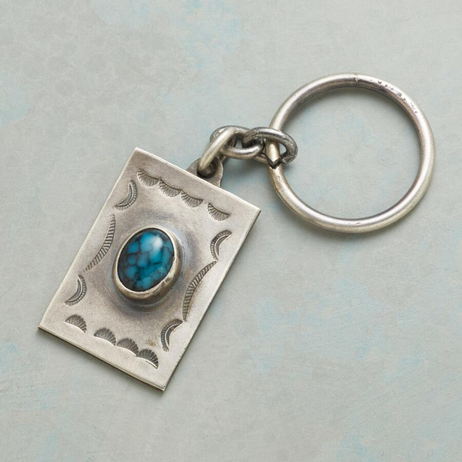 TURQUOISE TRAILS KEY RING