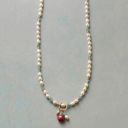 MOONLIGHT & ROSES NECKLACE